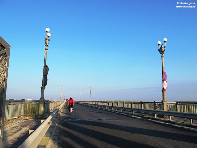 podul Giurgiu-Ruse pe bicicleta