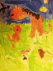 Animal Landscape by Sarah