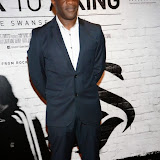WWW.ENTSIMAGES.COM -   Adrian Forbes  arriving    at      THE UK PREMIERE OF (JACK TO A KING) THE SWANSEA STORY at EMPIRE, LEICESTER SQUARE London September 12th 2014.The movie of Swansea City's rise from near extinction to the top of the Premier League                                                 Photo Mobis Photos/OIC 0203 174 1069
