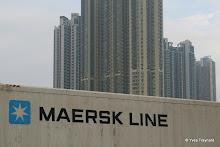 Port marchand : conteneur Maersk Line