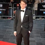 WWW.ENTSIMAGES.COM -   Graham Moore    arriving at    58th BFI LFF - The Imitation Game - opening film at Odeon Leicester Square, London October 8th 2014A biopic of Alan Turing, which opens this year's BFI London Film Festival.                                                    Photo Mobis Photos/OIC 0203 174 1069