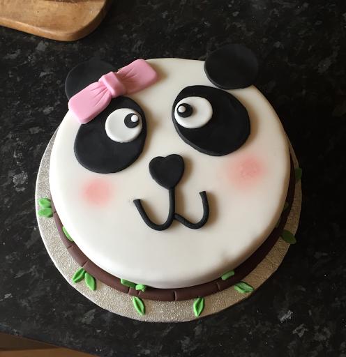 Hannah Kristy Cake Design Panda Theme Birthday Cake