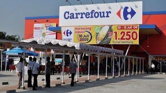 Hati-hati Teliti Sebelum Membeli, di Carrefour Karawang Sebut Disperindag Ditemukan Makanan Olahan Tak Miliki Label Sertifikasi Halal
