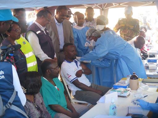 Une équipe de surveillance de la coordination installée à Butembo — Ebola