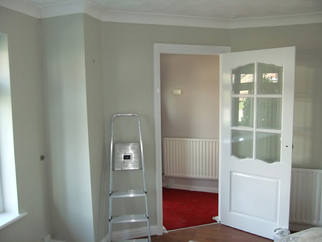 Living room re-decoration in Maghull, Merseyside