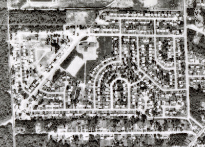 1966 Aerial Photo of Glenayre
