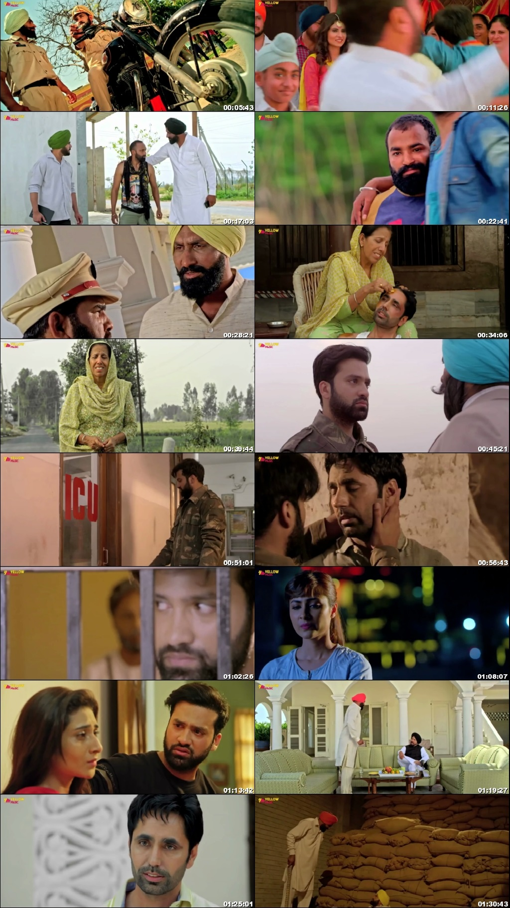 Screen Shot Of Bhagat Singh Di Udeek Movie 2018 Full Movie Free Download HD 720P Watch Online
