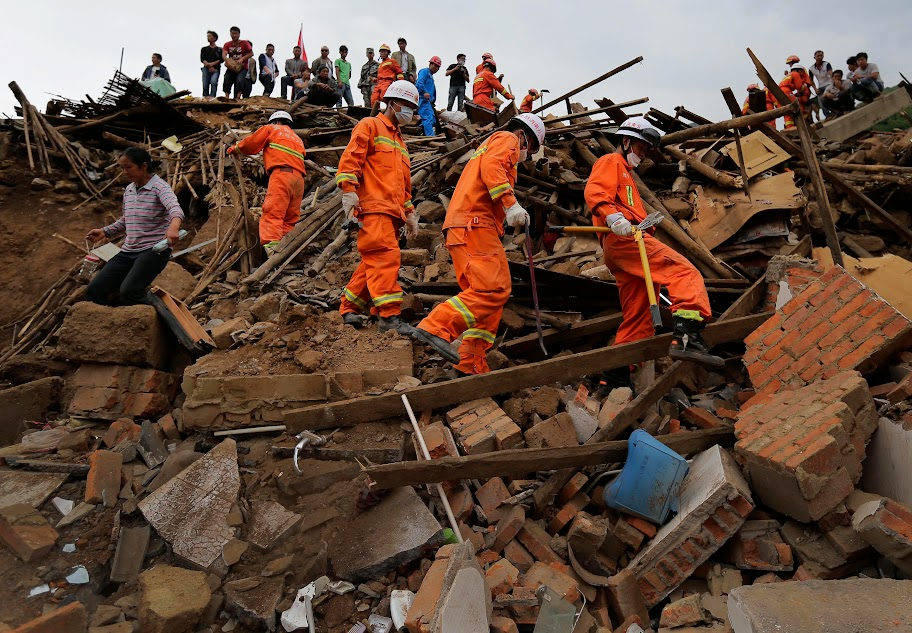 More bodies found from China quake rubble