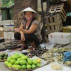 Straßenverkaufsstand in Hue