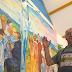 Два художники розмальовують вівтарну картину в дитбудинку на Ужгородщині (ФОТО, ВІДЕО)