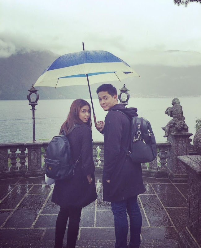 Maine Mendoza and Alden Richards
