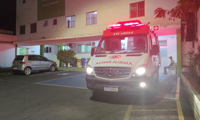 Jacobina: Motociclista sofre acidente após levar 'fechada' de carro