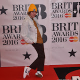 OIC - ENTSIMAGES.COM - Jordan Cardy - Rat Boy at the  The BRIT Awards 2016 (BRITs) in London 24th February 2016.  Raymond Weil's  Official Watch and  Timing Partner for the BRIT Awards. Photo Mobis Photos/OIC 0203 174 1069