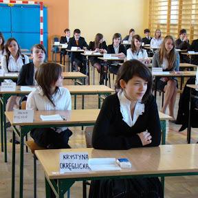 Egzamin Gimnazjalny - 24-26 kwietnia 2012