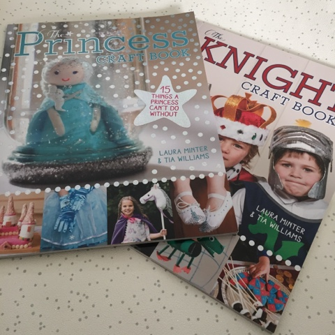princess knight craft books