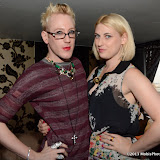 WWW.ENTSIMAGES.COM -   Lewis-Duncan Weedon and Lady Charlotte Lynham   at     The Bloggers Love Collection - fashion show The Penthouse, 1 Leicester Square, London August 22nd 2013                                                   Photo Mobis Photos/OIC 0203 174 1069