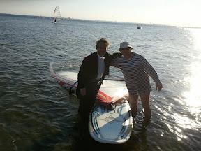 Filip & Jurek enjoying water sports