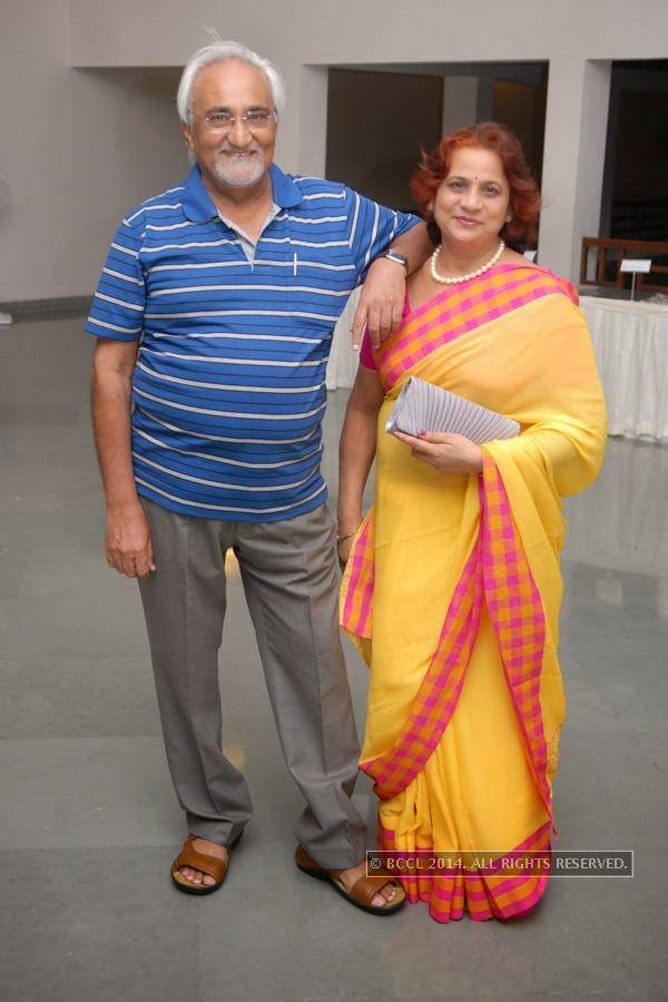 Vijay and Vijaya Salankar during the alumni meet, held at Chitnavis Centre, in Nagpur.