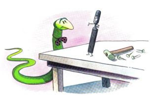 La serpiente y la lima: fabulas con historia para niños