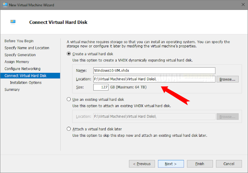 Create a Virtual Disk (www.kunal-chowdhury.com)