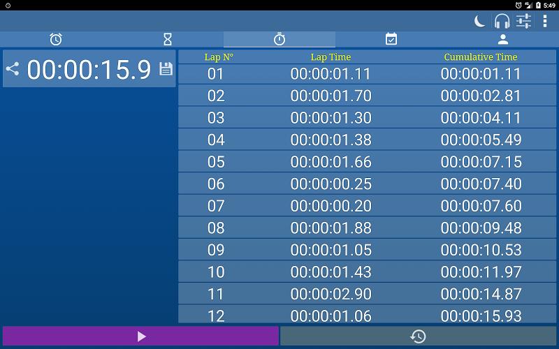 Alarm Clock & Timer & Stopwatch & Tasks & Contacts Screenshot 11