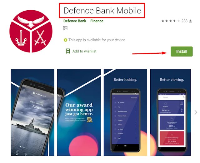 defence bank mobile app