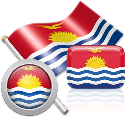 I-Kiribati flag icons pictures collection