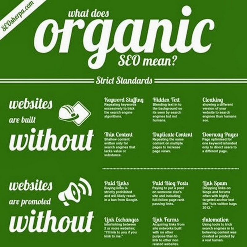 Search Engine Optimisation - Go Organic!