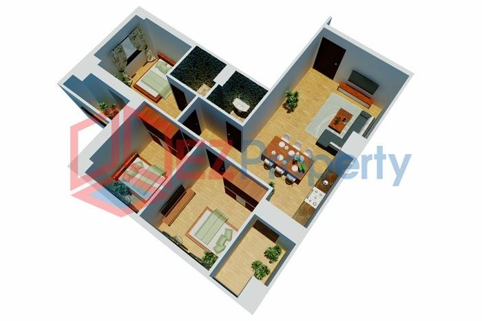 chung cư 136 hồ tùng mậu căn 95m, bán chung cư 136 hồ tùng mậu tòa 2a
