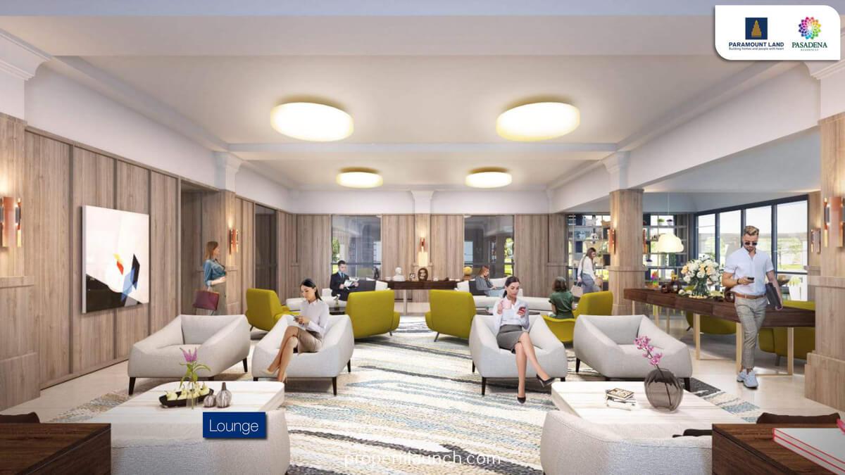 Lounge Pasadena Residences