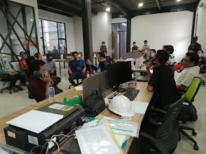 Tiga Ormas Mendampingi Petani Mendatangi PT Caraka Anugrah Santoso Terkait Meminta Ganti Rugi
