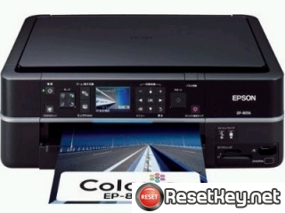 Reset Epson EP-801A printer Waste Ink Pads Counter