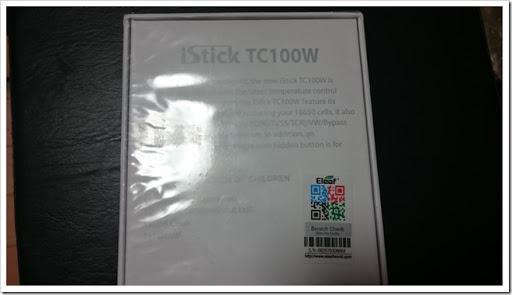 DSC 1119 thumb%25255B2%25255D - 【MOD】2本並列バッテリー!Eleaf iStick TC 100Wのレビュー【追記あり120Wまで対応ファームウェア公開】