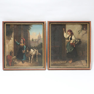 Johann Boch Painting Pair