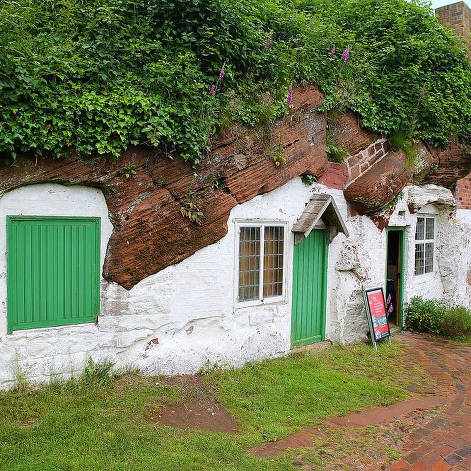 The Rock Houses That Inspired Tolkien