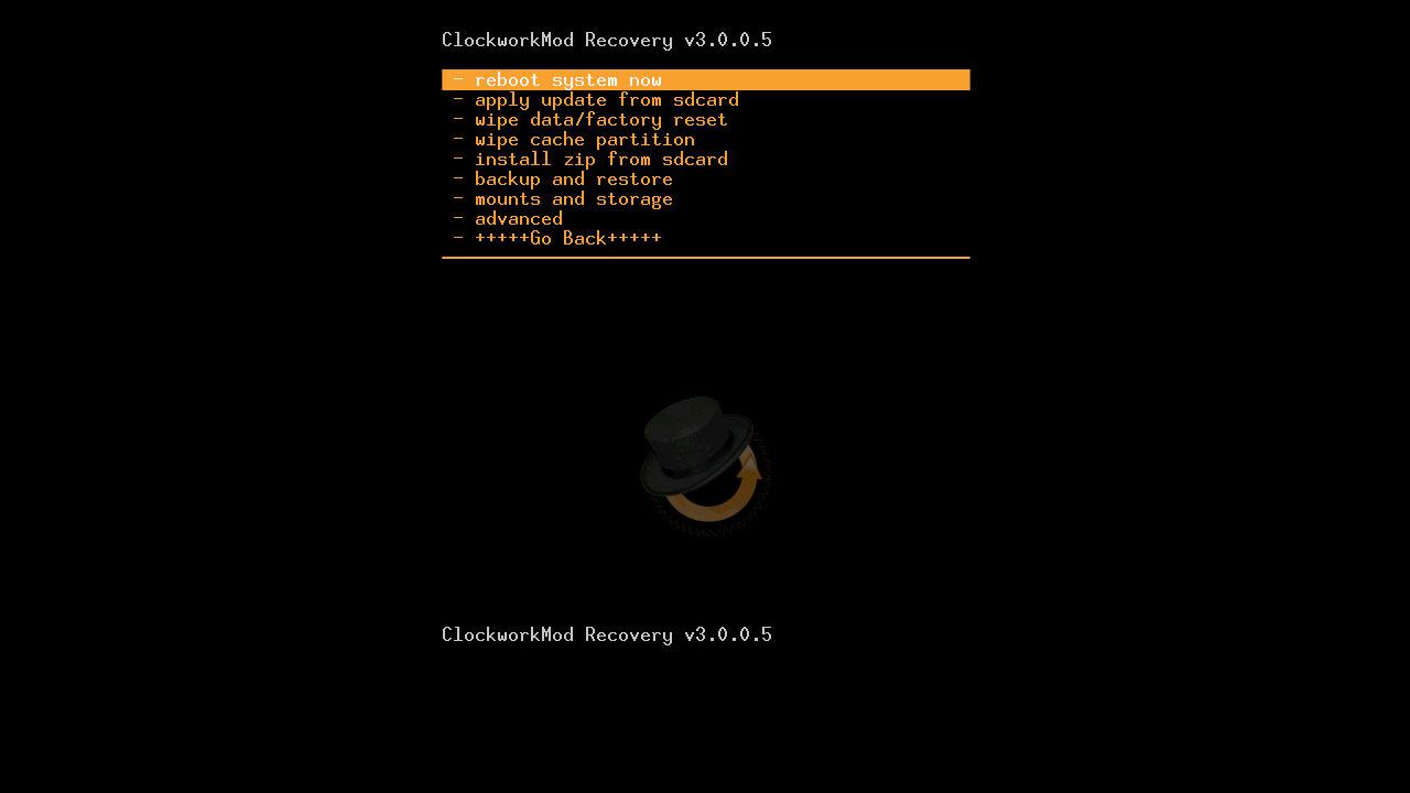 Download CWM for acer z200