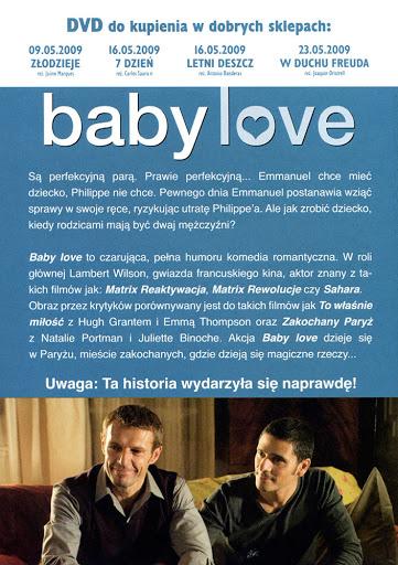 Tył ulotki filmu 'Baby Love'
