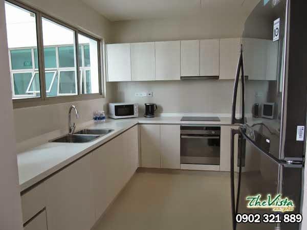 cho thue can ho the vista 3 phong ngu Quận 2 cho thuê căn hộ 3 phòng ngủ