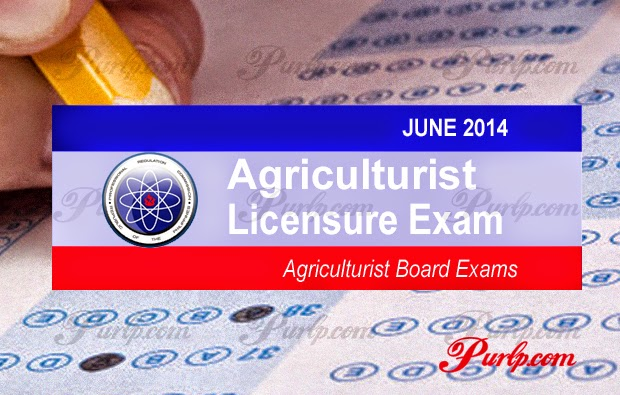 june 2014 agriculturist licensure exam results