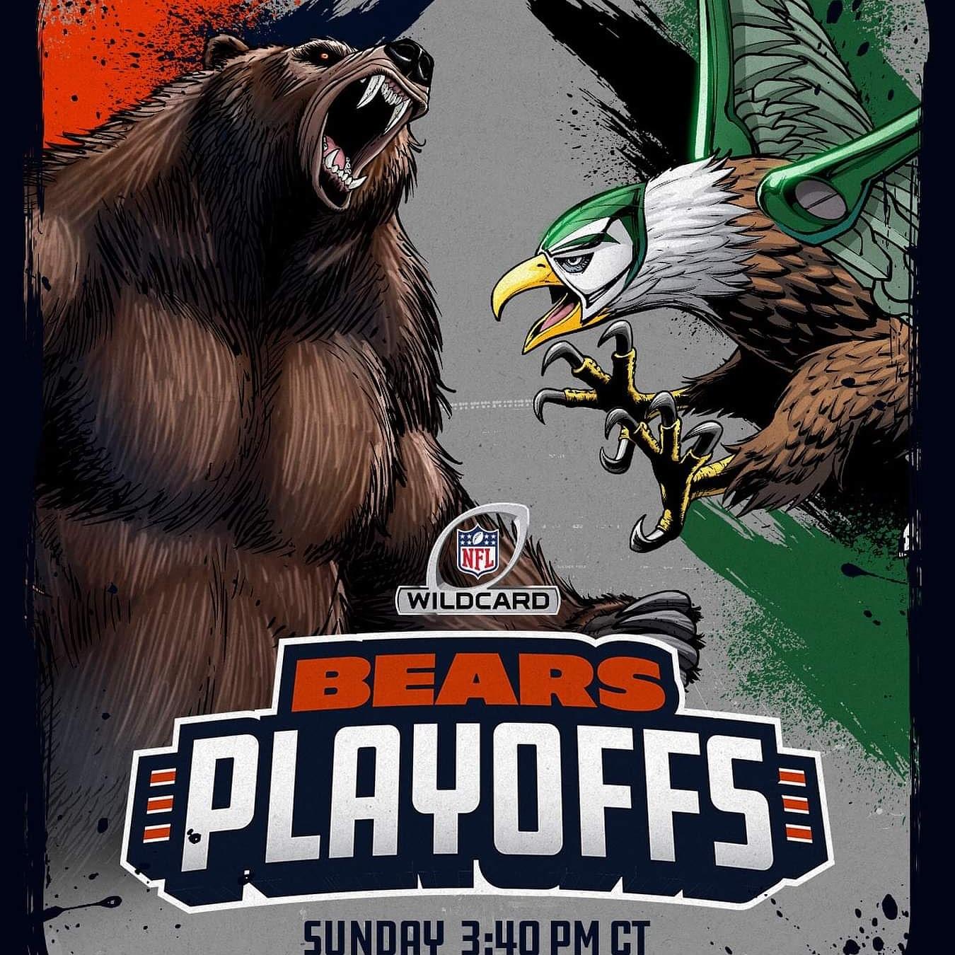 san francisco f6540 172bc Lonzo's Sports Gear Blog: Chicago Bears Playoff Bound !!!!!!