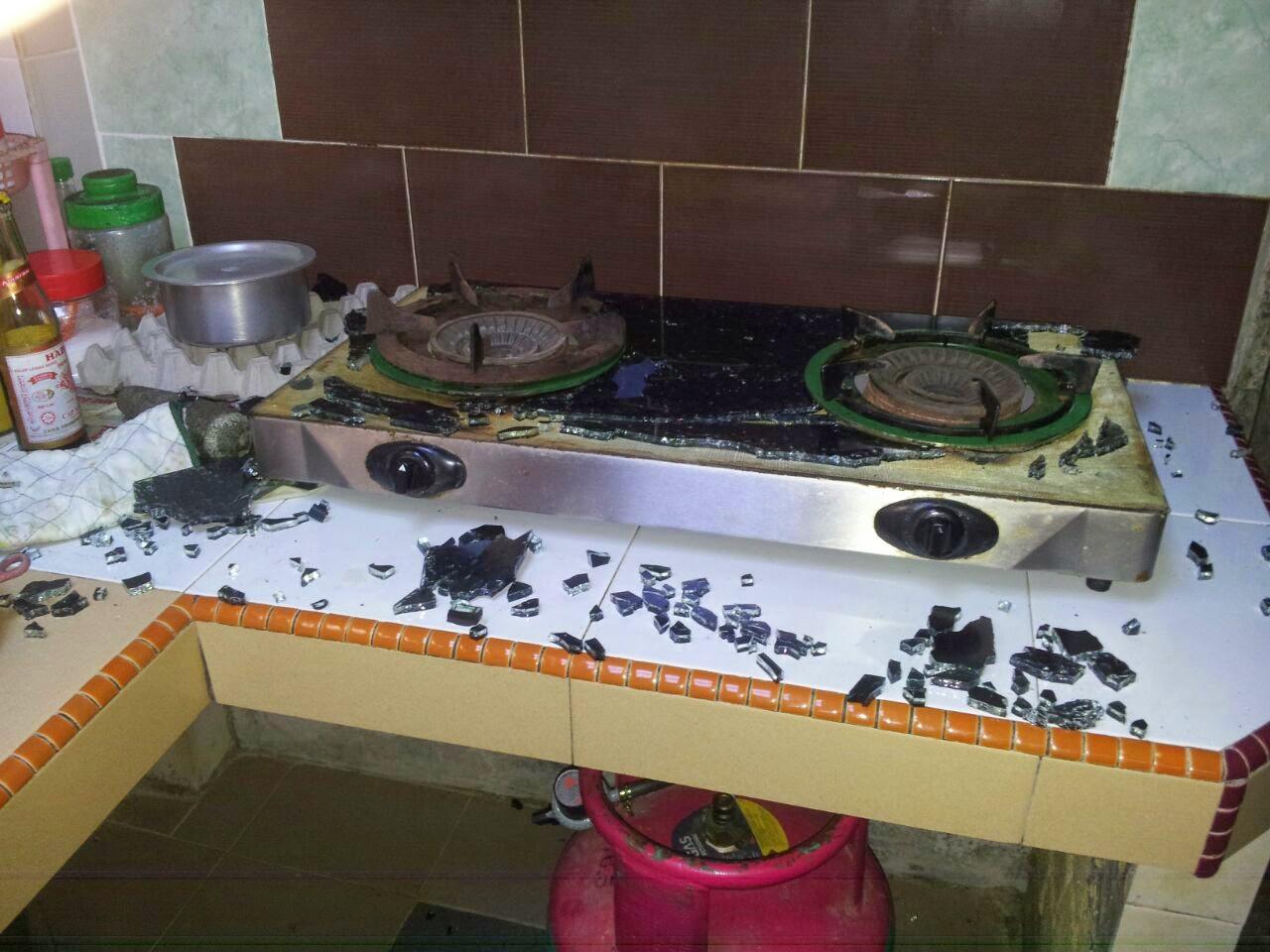 Masak Heavy Duty Janganlah Pilih Dapur Memasak Yang Berkaca Stainless Steel Semuanya Tapi Pastikan Juga Tempat Keluar Api Tu
