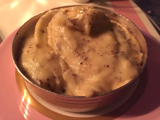 Truffle potato mash was yum