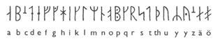 """""""Скандинавские  руны и руническая магия"""