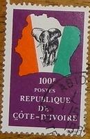 timbre Côte d'Ivoire 009