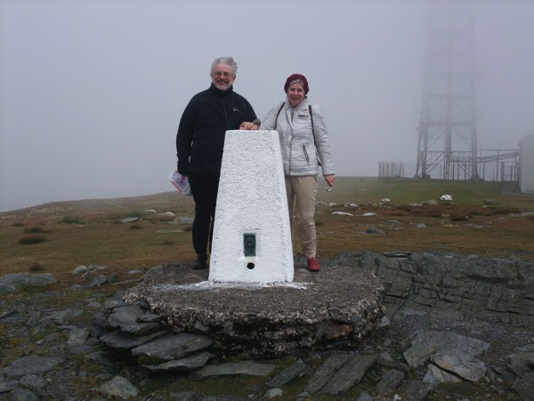 Snaefell Trig Point