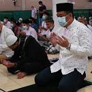 Dihari Raya Idul Fitri 1442H, Yang Ke-2 Bupati Lahat CU Sholat Juma't Di Masjid Takwa Talang Jawa Utara.