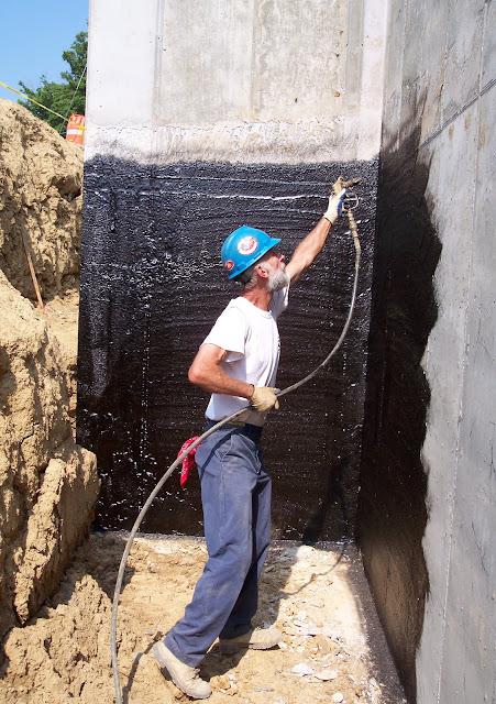 Spray Applied Foundation Waterproofing Applied Technologies