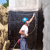 Start your new home off right with a waterproof foundation.  Hydra-Guard Waterproofing by Applied Technologies is applied to the exterior side of a foundation to stop water.  The basement area will be protected from leaks through the foundation.