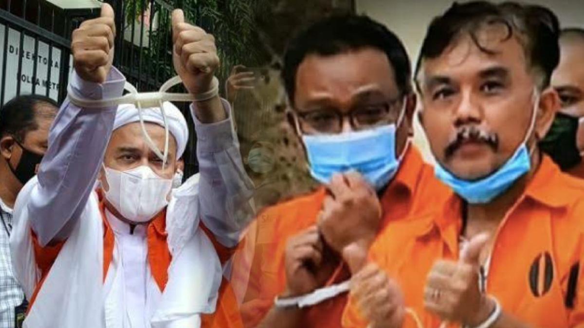 Penjara HRS, Syahganda dan Jumhur adalah Penjara Ketidakadilan