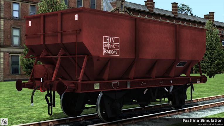 Fastline Simulation: dia. 1/146 25t HTV Coal Hoppers